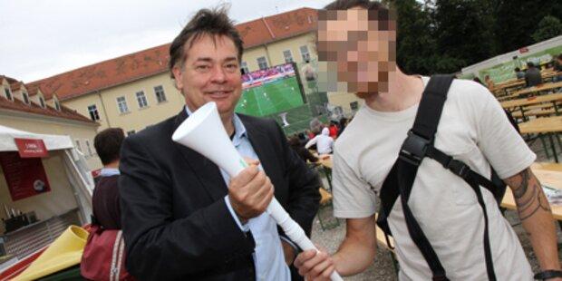 Graz: Vandalismus bei Kogler-Mitarbeiter