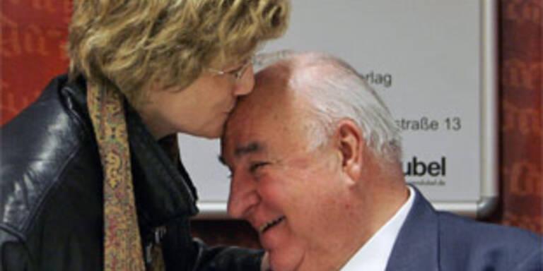 Ex-Kanzler Kohl hat in Klinik geheiratet