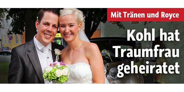 Kohl feierte Rolls-Royce-Hochzeit