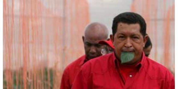 Chavez kaut jeden Tag Koka