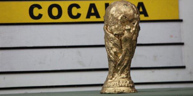 Dieser WM-Pokal besteht aus Kokain