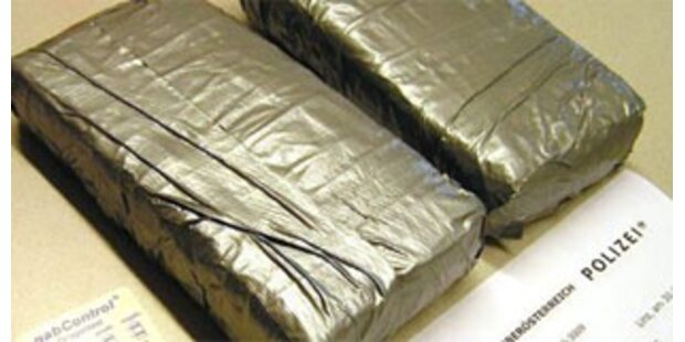 Brüder aus OÖ mit 1,1 Kilo Kokain festgenommen