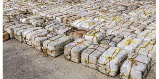 U-Boot mit 10 Tonnen Kokain aufgebracht