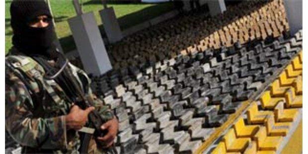 5,5 Tonnen Kokain in Panama entdeckt