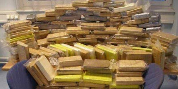 Fahnder stellen 206 Kilo Kokain sicher