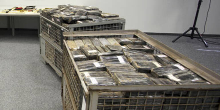 Polizei landet größten Kokain-Fund