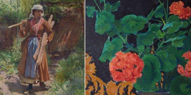 71 Gemälde aus Hietzinger Villa gestohlen