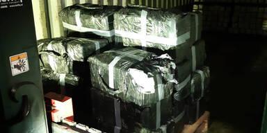 Arbeiter entdecken 750 Kilo Kokain in Lagerhalle