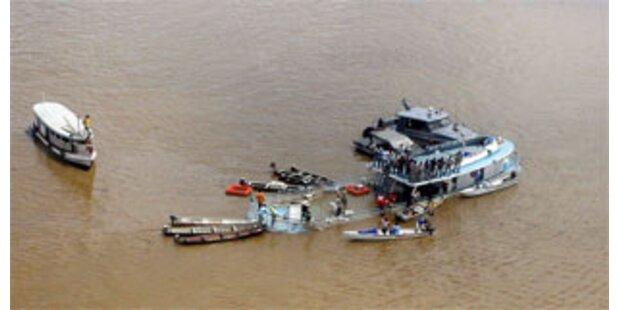 Elf Tote bei Schiffsunglück auf dem Amazonas