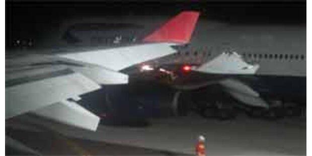 Flugzeuge am Flughafen London-Heathrow kollidiert