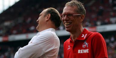 Stögers Kölner gewinnen mit 4:1 gegen Aue