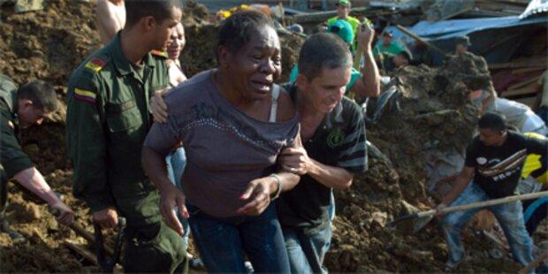200 Menschen in Kolumbien verschüttet