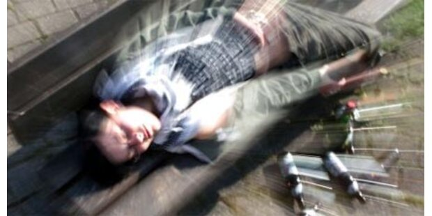 13-Jähriger soff sich 2,35 Promille an
