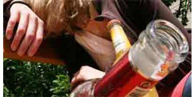 13-jährige Tirolerin soff sich ins Koma
