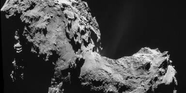 "Komet ""Tschuri"" stinkt wie faule Eier"