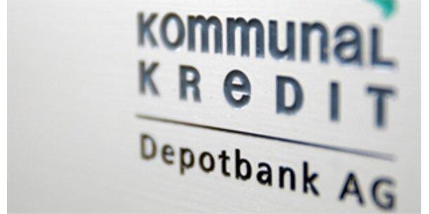 Kommunalkredit droht Minus von 200 Mio. Euro