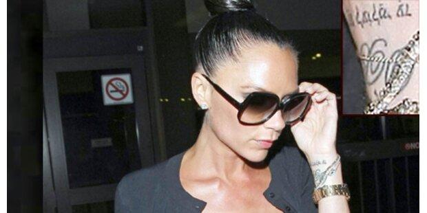 Victoria Beckham: Hebräisches Tattoo