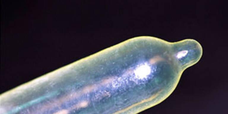 Kondom in Milch-Packung gefunden