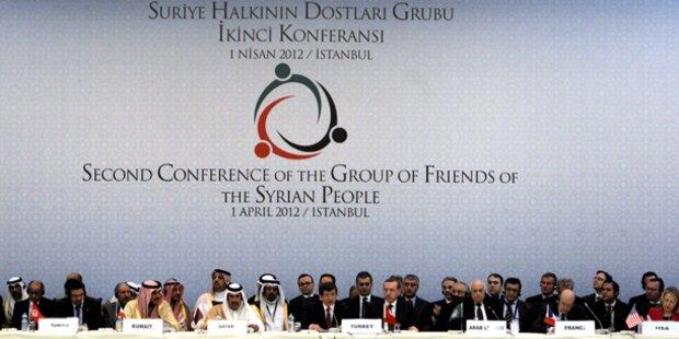 Kontakgruppe erkennt Oppositions-Rat an
