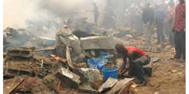 50 Tote nach Flugzeugcrash im Kongo geborgen