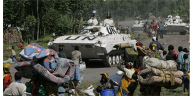 UN-Truppen chancenlos gegen Rebellen im Kongo