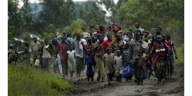 Erneut Tausende im Kongo auf der Flucht