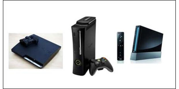 Wii und Xbox verlieren - PS3 legt zu