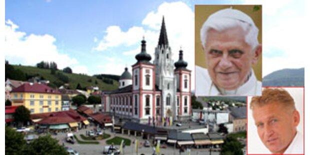 Der Papst in Heiligenkreuz