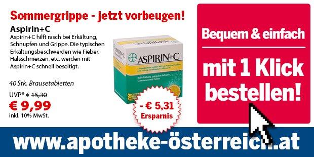Anzeige Apotheke