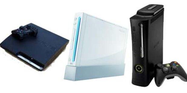 Xbox 360 zieht erstmals an der Wii vorbei