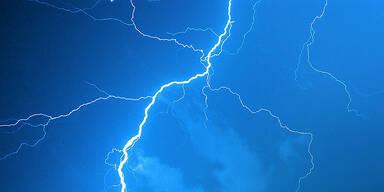 Blitz Gewitter Unwetter Lightning