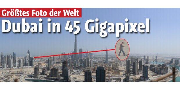 Größtes Foto der Welt zeigt ganz Dubai