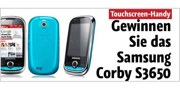 Gewinnen Sie ein Samsung Corby S3650