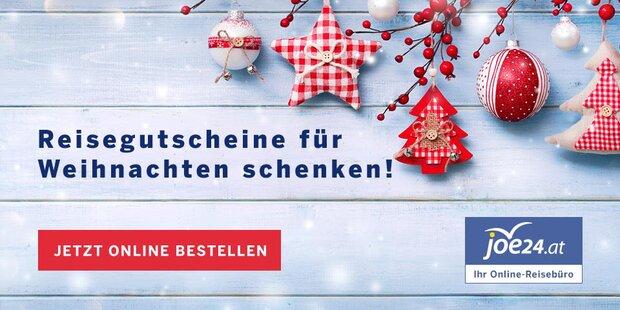 Zu Weihnachten joe24-Gutscheine schenken