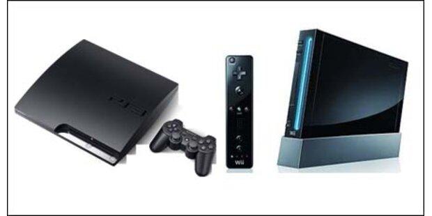 Engpässe bei PlayStation 3 und Wii