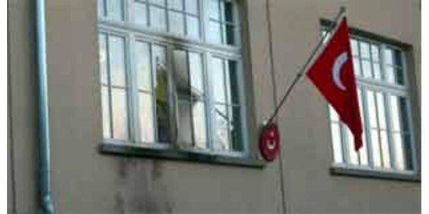 Brandanschlag auf türkisches Konsulat ungeklärt