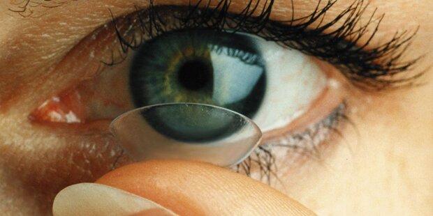 Nach 6 Monaten Kontaktlinsen blind