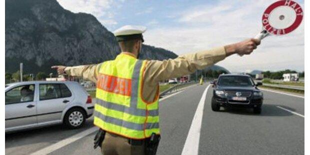 Italiener raste an Tiroler Polizei vorbei