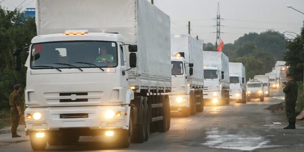 Kiew lässt russischen Hilfskonvoi ins Land