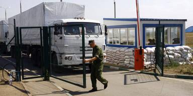 Russischer Konvoi erreicht Luhansk