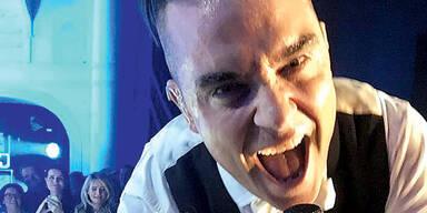 Robbie Williams rockte bei den Glocks