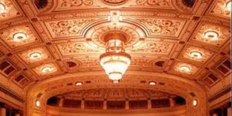 Die Decke im Wiener Konzerthaus