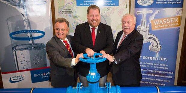 Kooperation Wien – Burgenland sichert die Wasserversorgung