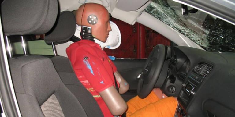 Welcher Kopf-Airbag schützt besser?