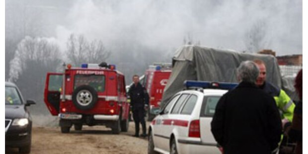 Bagger in Koralmtunnel-Baustelle geriet in Brand