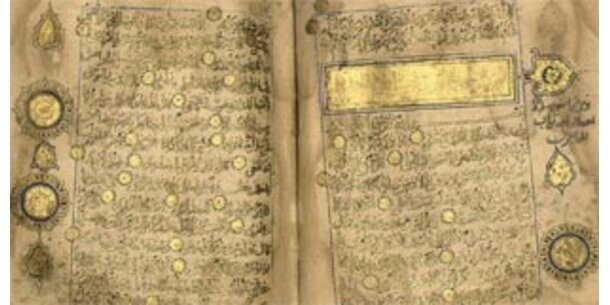 Koran aus dem 13. Jhrdt versteigert