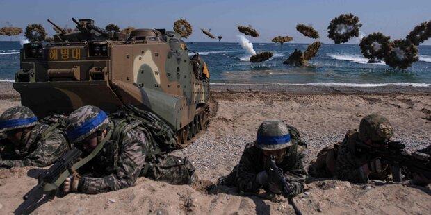 USA und Südkorea proben Sturm auf Nordkorea
