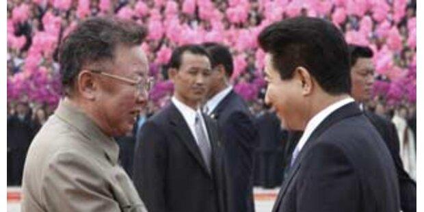 Süd- und Nordkorea verhandeln neue Annäherungen