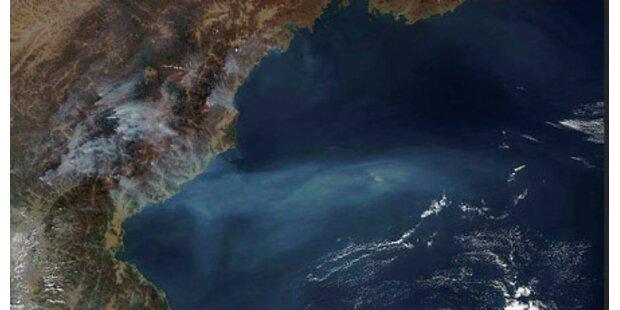 Feuer wüten auf Nordkoreas Atomgelände