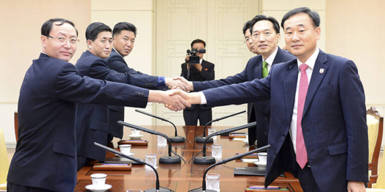 Koreas einigen sich auf Familientreffen